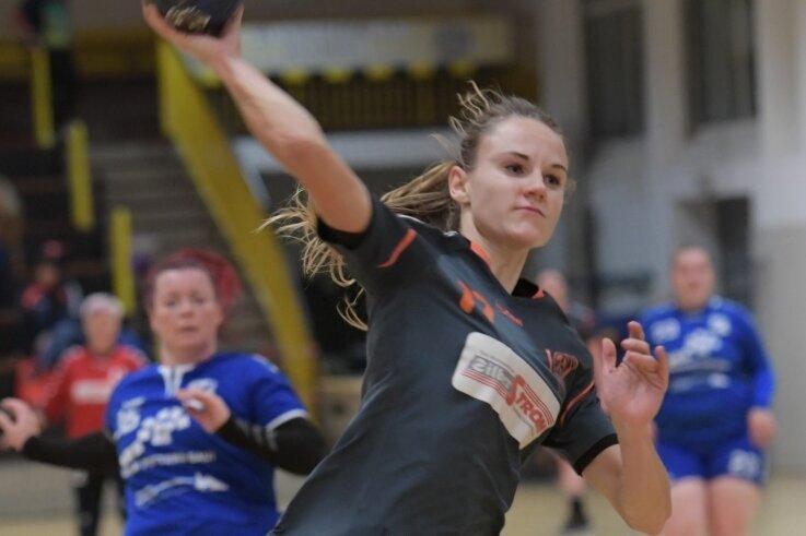 Schneebergs Lisa Graupner steuerte zum verdienten Heimsieg des SVS gegen die HSG Neudorf-Döbeln sechs Tore bei.